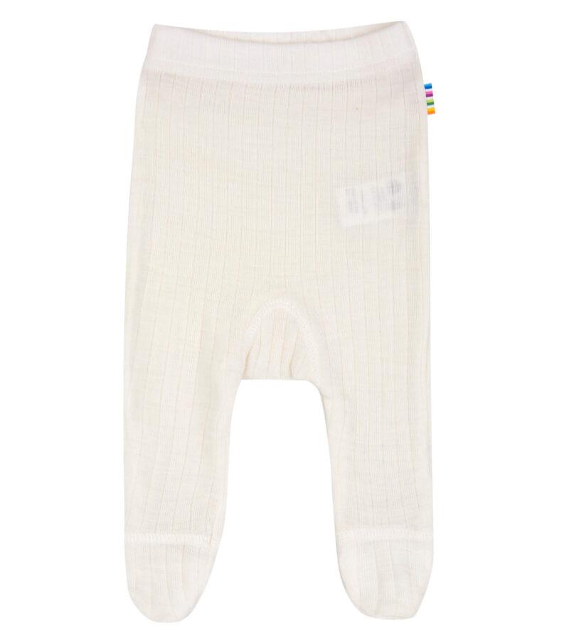 Hvid uld leggings fra Joha til for tidligt født