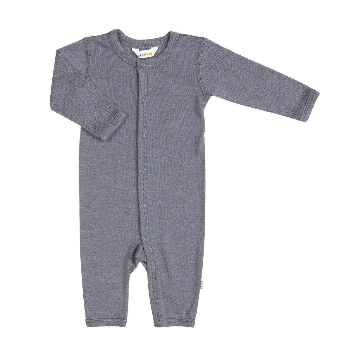 Joha uld/silke heldragt i grå
