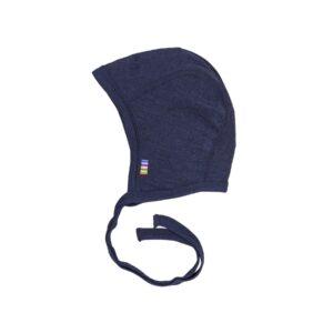 bf7e79b8 Joha kortærmet body i blød uld silke blanding - Marineblå