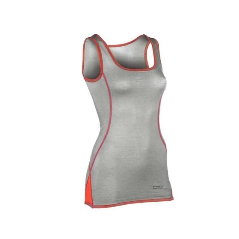 Engel Sports uld/silke tank top i grå til kvinder