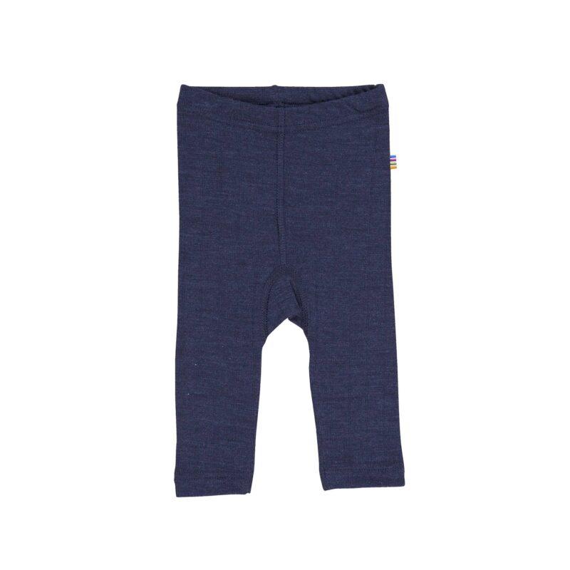 Billede af Joha leggings i uld/silke - marineblå
