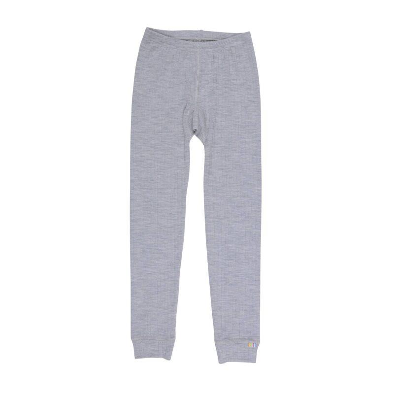 Billede af uldne lange underbukser - grå
