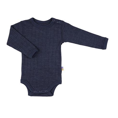 Kategoribillede til langærmet body i uld/silke