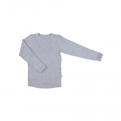 Billede af Ulden langærmet undertrøje i lys grå fra Joha