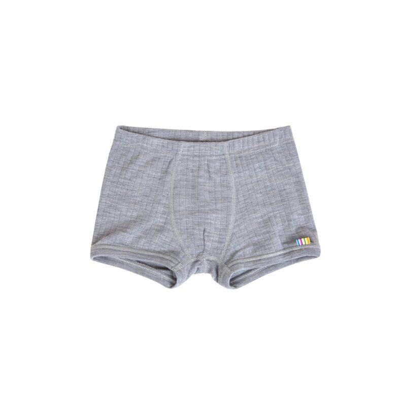 Uld underbukser i grå fra Joha