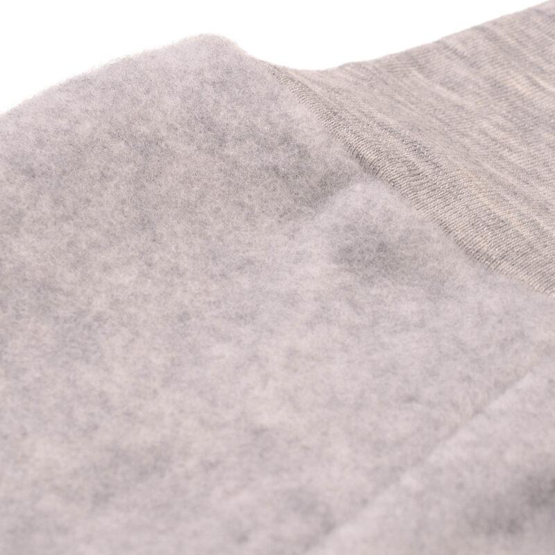 Bukser i uld. Grå bukser fra Engel i 100% GOTS merinould. Close up