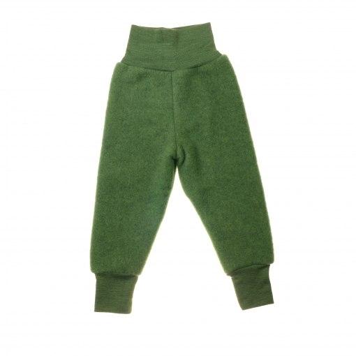 Bukser i uld. Grøn bukser fra Engel i 100% GOTS merinould
