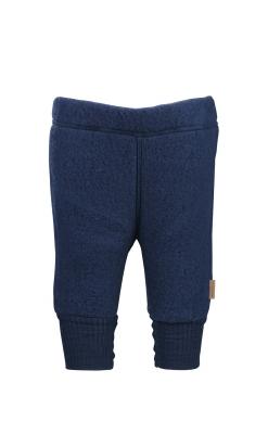 Bukser i softuld fra mikk-line i blå