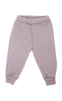 Bukser i softuld fra mikk-line i rosa