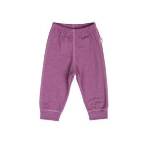 Skiunderbukser i uld til børn. 100% merinould. Joha - rød