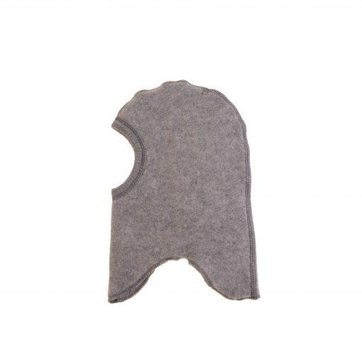Elefanthue i grå softuld. Mikk-Line