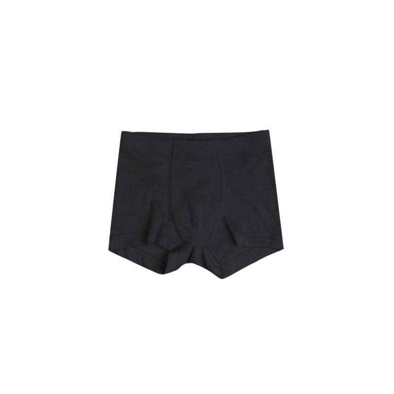 Boxershorts i sort uld-silke fra Joha.