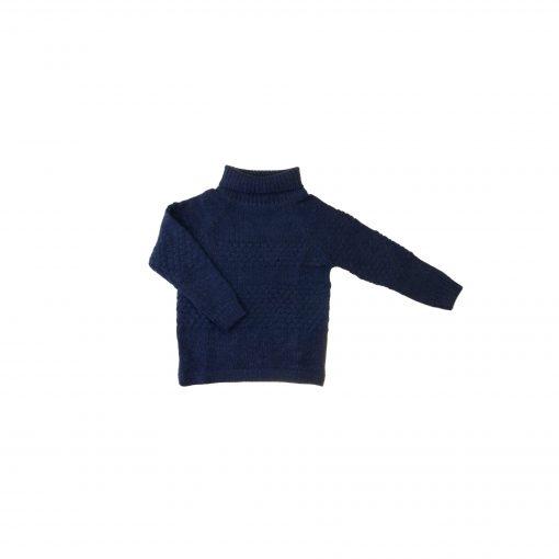 Sømandstrøje i alpaka uld fra Flo Flo. Mørkeblå