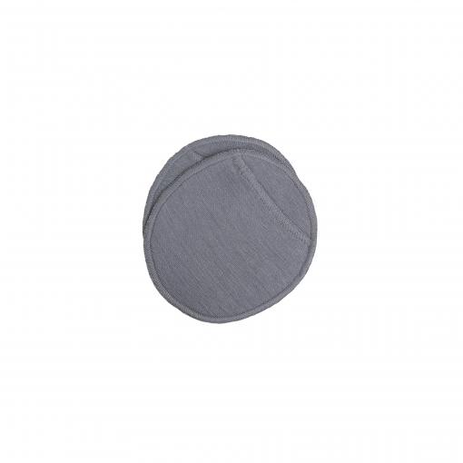 Ammeindlæg i uld silke med lomme til engangsindlæg. Grå model fra Joha.