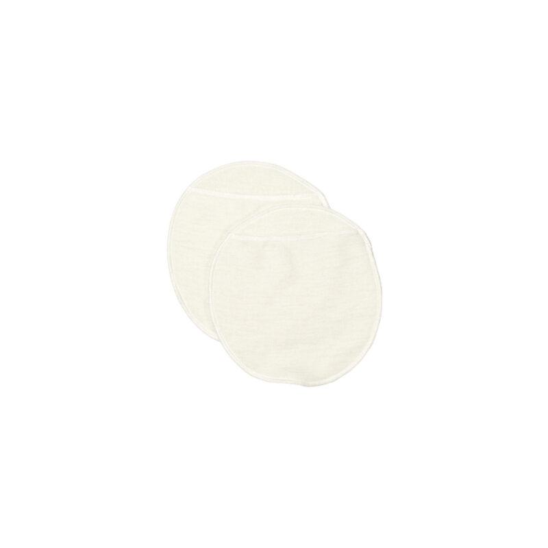 Ammeindlæg i uld med lomme til engangsindlæg. Hvid model fra Joha.
