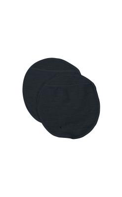 Ammeindlæg i uld med lomme til engangsindlæg. Sort model fra Joha.