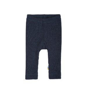 Uld bukser i mørkeblå uld fra Joha