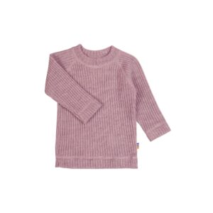 Rosa bluse i 100% merinould fra Joha