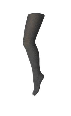 MP strømpebukser i mørkegrå. 80% uld.