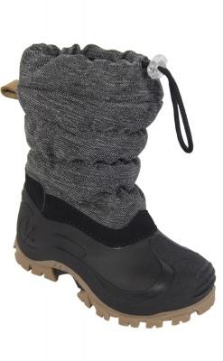 Vinterstøvle til barn. Vandtæt sål og vandafvisende. Sort støvle fra Move.