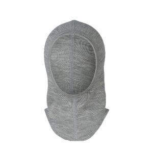 0ff160e8 Elefanthue i grå uld silke. Økologisk (gots) elefanthue til barn fra Engel.