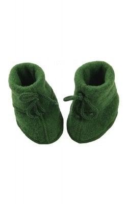 Futter i uldfleece. Grøn økologisk uld fra Engel. GOTS.