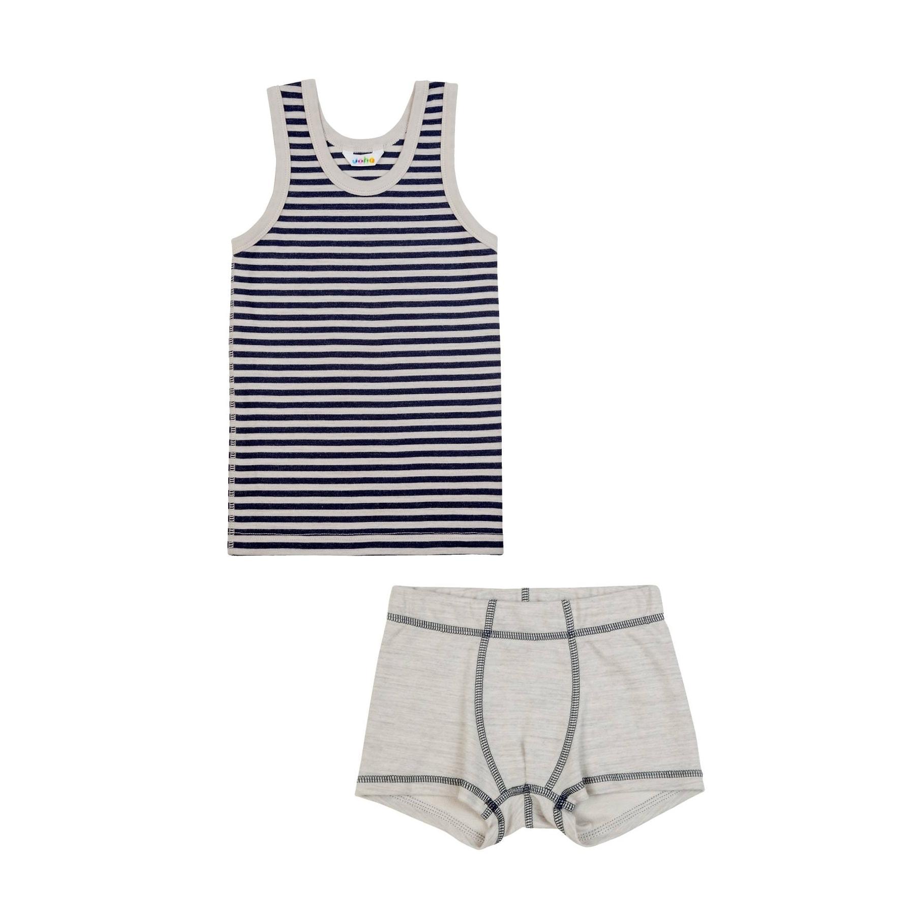 10f415d83e7 Joha undertøj til dreng - Uld bomuld - Sæt af underbukser og ...