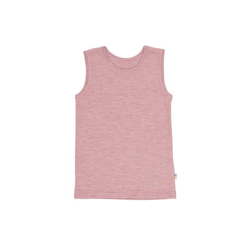 Undertrøje til pige i rosa uld. Joha.