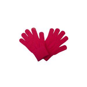 Fingervanter til børn i lyserød uld. Vanter er fra Racing Kids.