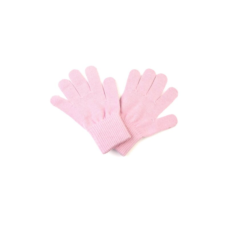 Fingervanter til børn i rosa uld. Vanter er fra Racing Kids.