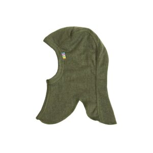 Joha elefanthue i uld. Dobbelt lag. Grøn