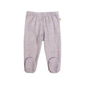 Leggings til for tidligt født baby. Joha præmatur leggings i uld bambus. Rosa.