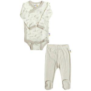Præmatur body og leggings i uld silke fra Joha.
