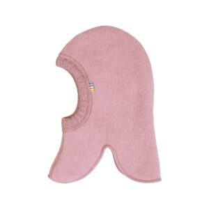 Joha elefanthue til barn. Elefanthue i rosa uldfleece.