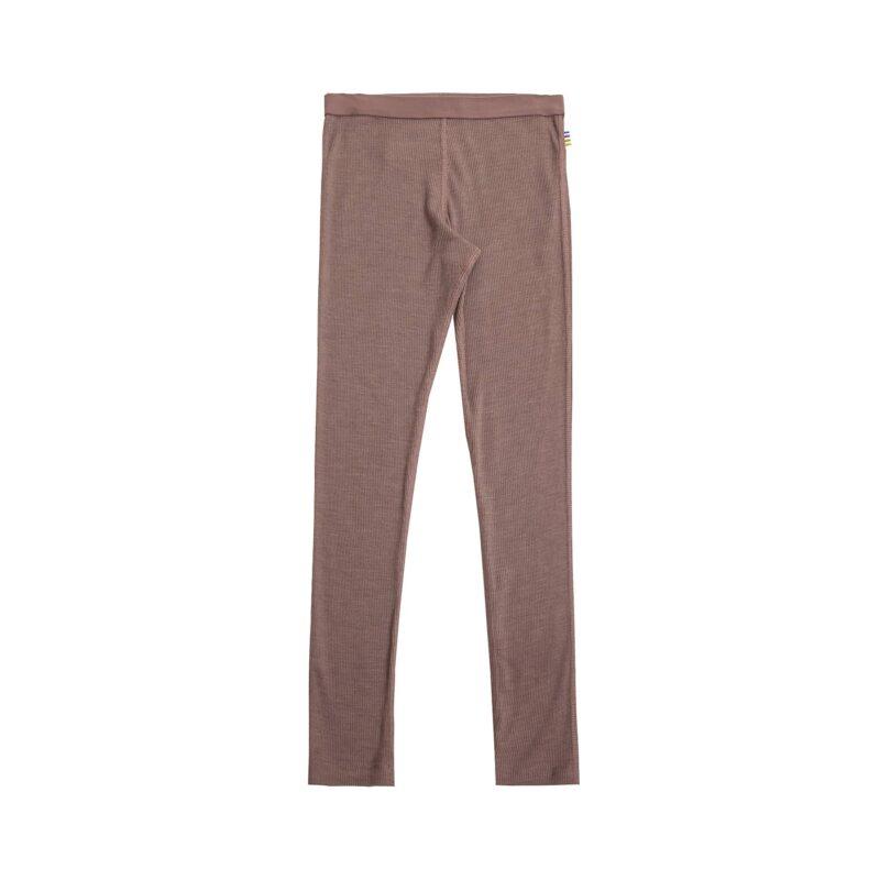 Joha skiunderbukser i gammel rosa farvet uld silke. Brug som natbukser eller skiunderbukser.