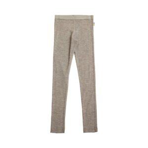 Joha skiunderbukser i valnødefarvet uld silke. Brug som natbukser eller skiunderbukser.