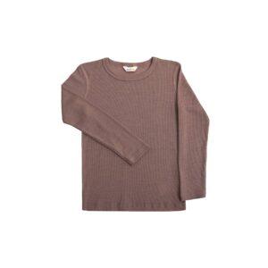 Joha skiundertrøje i gammel rosa farvet uld silke. Brug som nattrøje eller skiundertrøje.