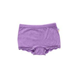 Hipsters til pige i uld silke. Lilla underbukser fra Joha.