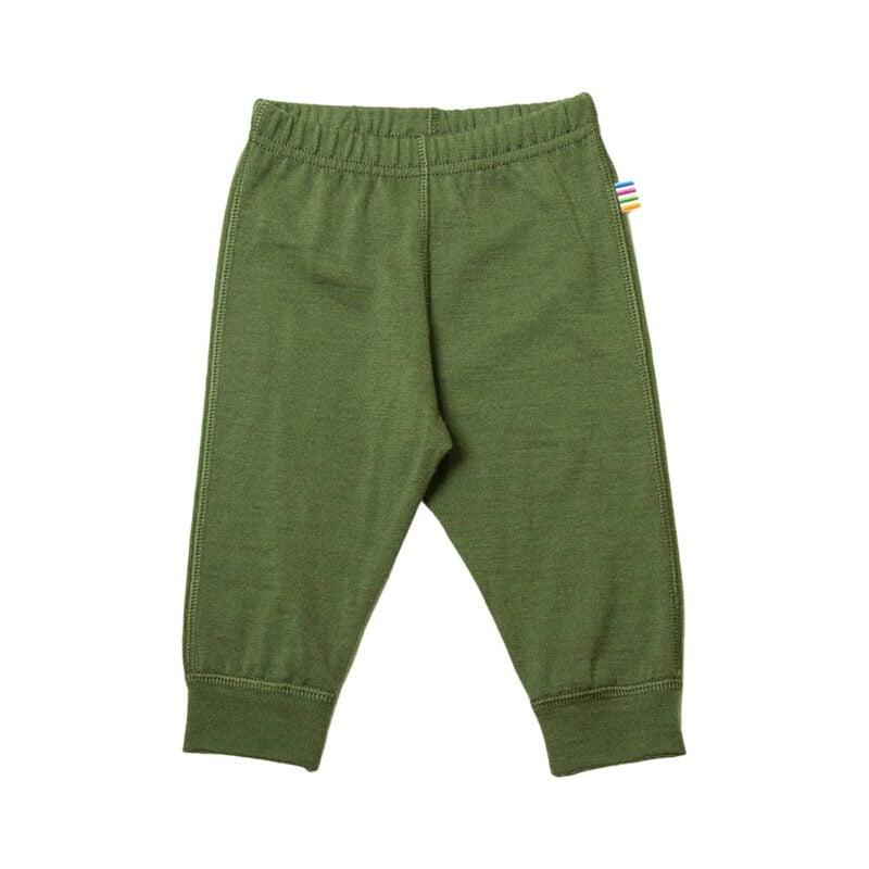Præmatur leggings i uld. Joha i grøn.